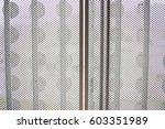 steel dark list with rhombus... | Shutterstock . vector #603351989