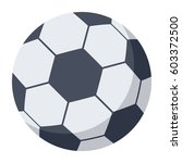 soccer ball  football ball ... | Shutterstock .eps vector #603372500