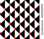 seamless geometric pattern of... | Shutterstock .eps vector #603400094