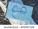 old spectacles or eyeglasses... | Shutterstock . vector #603401168