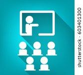 training icon | Shutterstock .eps vector #603401300