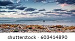 guanabo beach in a winter season | Shutterstock . vector #603414890