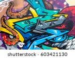 art under ground. beautiful...   Shutterstock . vector #603421130