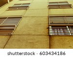 vintage building background | Shutterstock . vector #603434186