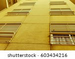 vintage building background | Shutterstock . vector #603434216