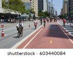 sao paulo  brazil   october 23  ... | Shutterstock . vector #603440084