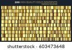 Gold Golden Gradient Pattern...