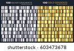 gold silver gradient pattern...