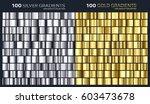 Gold Silver Gradient Pattern...
