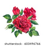 Red Roses   Floral Composition...