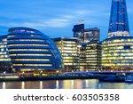 skyscraper office business...   Shutterstock . vector #603505358