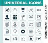 set of 25 universal editable...