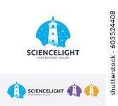 science light  vector logo...