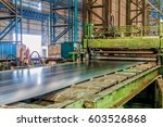factory steel rolling mill... | Shutterstock . vector #603526868