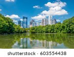 midtown atlanta skyline from... | Shutterstock . vector #603554438
