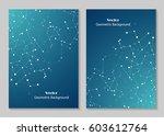 modern vector templates for... | Shutterstock .eps vector #603612764