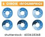 vector circle arrows for... | Shutterstock .eps vector #603618368