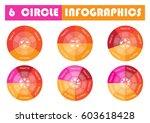vector circle arrows for... | Shutterstock .eps vector #603618428