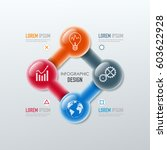 vector elements for infographic.... | Shutterstock .eps vector #603622928
