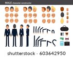 male character constructor for... | Shutterstock .eps vector #603642950