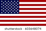usa flag background | Shutterstock . vector #603648074