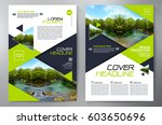 business brochure. flyer design.... | Shutterstock .eps vector #603650696