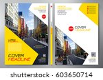 business brochure. flyer design.... | Shutterstock .eps vector #603650714