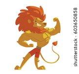 vector cartoon image of animals ...   Shutterstock .eps vector #603650858