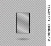 blank mobile  smartphone ... | Shutterstock .eps vector #603659588