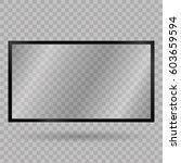 blank mobile  smartphone ... | Shutterstock .eps vector #603659594