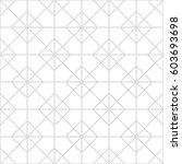 art deco seamless background. | Shutterstock .eps vector #603693698