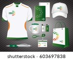 gift items  color promotional... | Shutterstock .eps vector #603697838