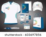 gift items  color promotional... | Shutterstock .eps vector #603697856