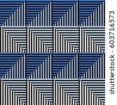 seamless vector abstract... | Shutterstock .eps vector #603716573