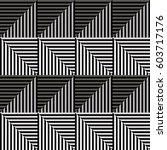 seamless vector abstract... | Shutterstock .eps vector #603717176