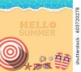 vector background template for... | Shutterstock .eps vector #603720278
