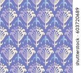 ethnic boho seamless pattern.... | Shutterstock .eps vector #603720689