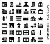 window icons set. set of 36... | Shutterstock .eps vector #603732698