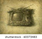 surreal tv | Shutterstock . vector #60373483