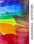 Small photo of Abstract acrylic colors