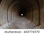 Small photo of The ruins : Abolished tunnel of Akiu electric railway,Sendai,Japan.