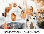 window home decoration with... | Shutterstock . vector #603786026