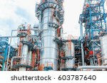 oil and gas industry  ... | Shutterstock . vector #603787640