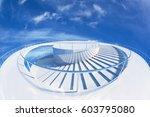 design element. 3d illustration.... | Shutterstock . vector #603795080