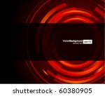 abstract technology circles... | Shutterstock .eps vector #60380905