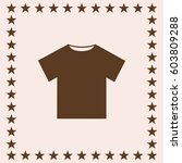 t shirt icon web vector.