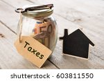 real estate finance concept  ... | Shutterstock . vector #603811550