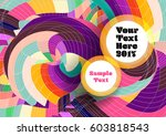 abstract colorful background | Shutterstock .eps vector #603818543