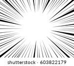 comic and manga books speed... | Shutterstock .eps vector #603822179