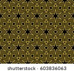 abstract repeat backdrop.... | Shutterstock .eps vector #603836063